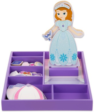 Melissa & Doug Disney Sofia the First Wooden Magnetic Dress-Up Doll