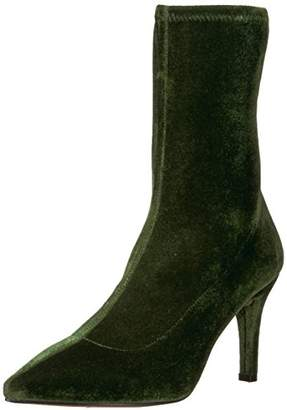 The Fix Women's Becca Pointed Toe Sock-Style Ankle Boot