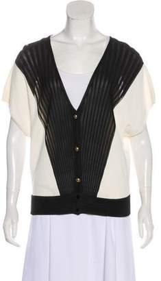 Vionnet Lightweight Knit Short Sleeve Top