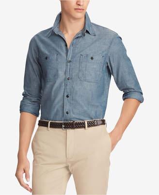 Polo Ralph Lauren Men's Classic Fit Chambray Workshirt