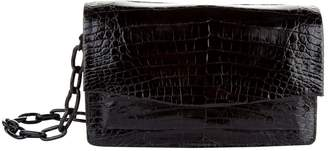 Nancy Gonzalez Small Crocodile Chain Cross Body Bag