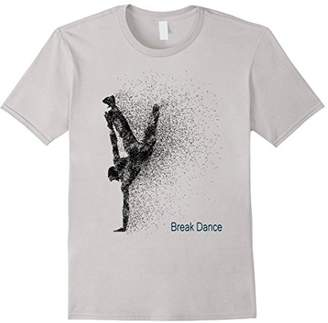 I Love Break Dance modern Sport Graphic Dance T-Shirt