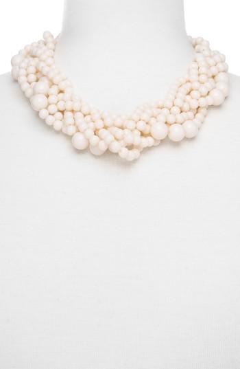 Women's Baublebar Bubblestream Imitation Pearl Necklace 2