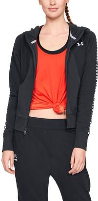 Under Armour Women's UA Microthread Fleece Graphic Full Zip