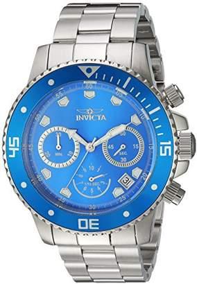 Invicta Men's 'Pro Diver' Quartz Stainless Steel Diving Watch