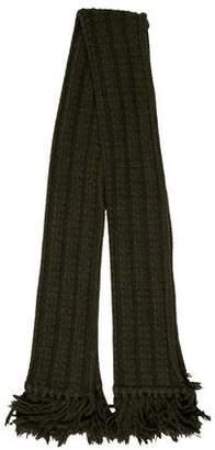 Saint Laurent Knit Woof Scarf