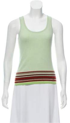 Chanel Cashmere Sleeveless Top