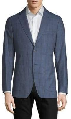 Plaid Wool Sportcoat