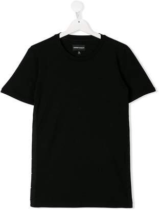 Emporio Armani (エンポリオ アルマーニ) - Emporio Armani Kids TEEN short-sleeve T-shirt