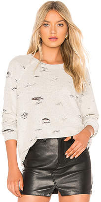 Michael Lauren Calvin Distressed Pullover