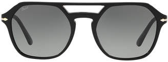 Persol Po3206s 54 Black Square Sunglasses