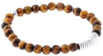 Tateossian Bamboo Tiger Eye Bracelet