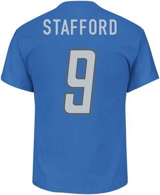 Majestic Men's Detroit Lions Matthew Stafford Name & Number Tee