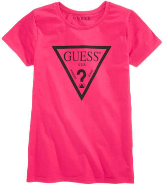 43a7700ed2 GUESS Logo Graphic-Print Cotton T-Shirt