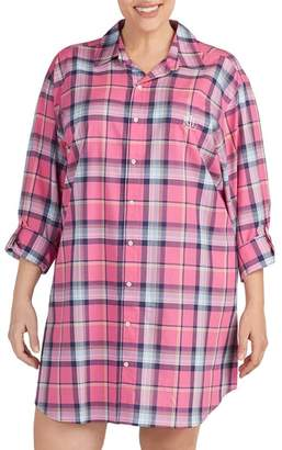 Lauren Ralph Lauren Plaid Sleep Shirt