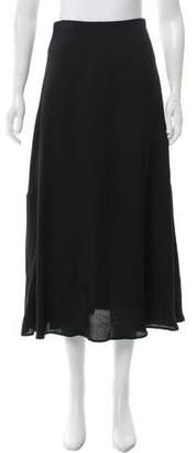 Rosetta Getty Crepe Midi Skirt w/ Tags