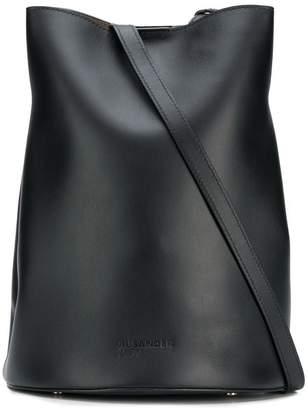 Jil Sander Navy saddle shoulder bag