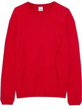 Iris & Ink Tara Cotton And Cashmere-Blend Sweater