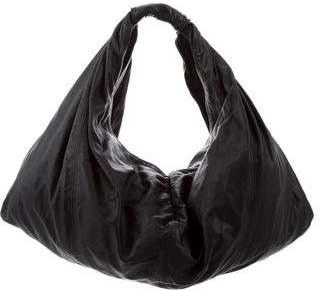 Alice + Olivia Leather Hobo Bag