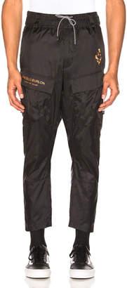 Marcelo Burlon County of Milan Fire Cross Cargo Pants