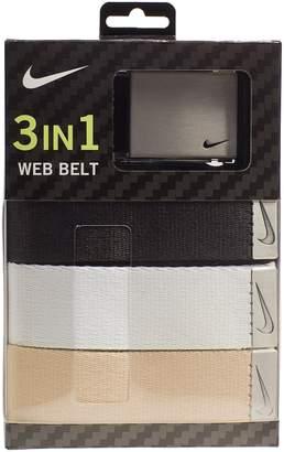 Nike Men's 3-in-1 Golf Web Belt Pack