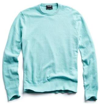 Todd Snyder Cotton Crew Neck in Teal