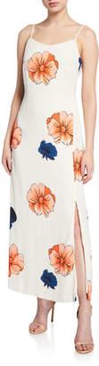 Nicole Miller Studio Floral-Print Maxi Dress