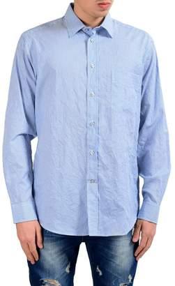 Ermenegildo Zegna Zegna Sport Men's Regular Fit Striped Long Sleeve Casual Shirt