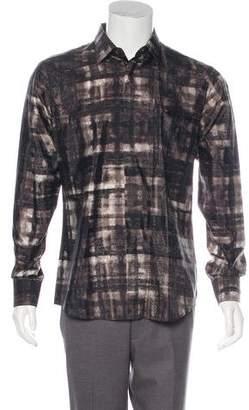 Burberry 2018 Plaid Silk Shirt