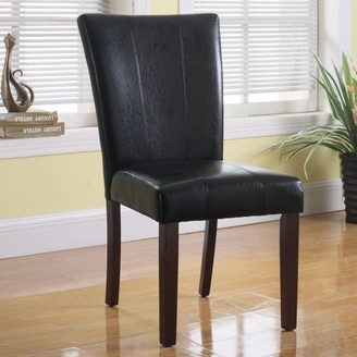 Best Master Furniture's Upholstered Faux Leather Dining Side Chairs