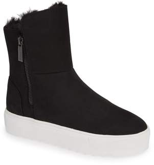 J/Slides Selene Faux Fur Lined Waterproof Boot
