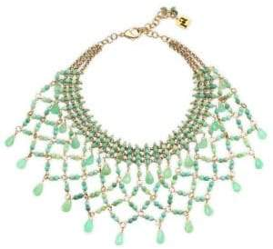 Rosantica Rete Cyrsophrase Collar Necklace