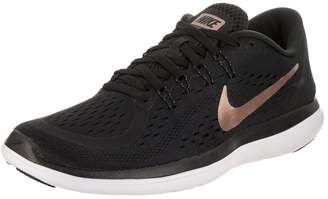 Nike Women's Flex 2017 RN Black/Mtlc/Red/Bronze Running Shoe 7.5 Women US