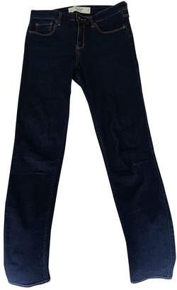 Abercrombie & Fitch Blue Cotton - elasthane Jeans for Women