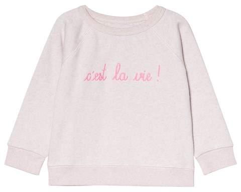 Maison Labiche Pink C'est La Vie Jumper