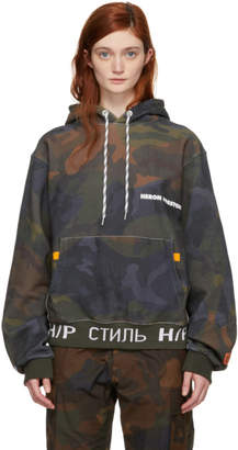 Heron Preston Multicolor Camouflage Eggs Hoodie
