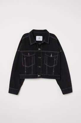 H&M Short Denim Jacket - Black
