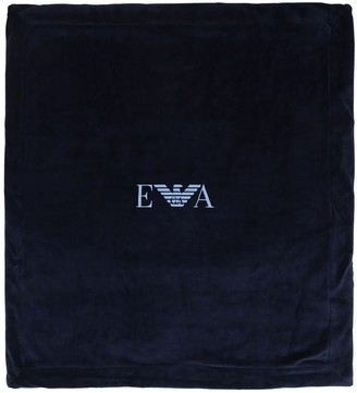 Emporio Armani Padded Cotton Blend Blanket