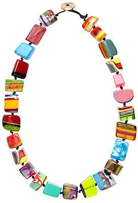 Jackie Brazil Mixed Pop Art Long Necklace, Multi