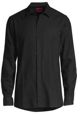 HUGO Extra Slim Elisha Sparkle Sport Shirt