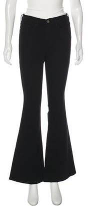Frame Mid-rise Wide-Leg Jeans