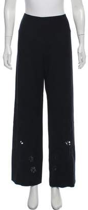Valentino High-Rise Virgin Wool Pants