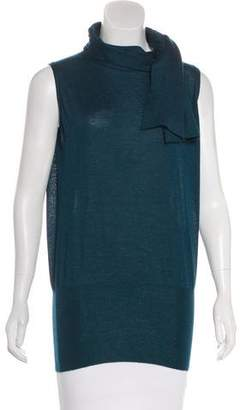 Agnona Cashmere Sleeveless Top