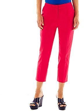JCPenney Worthington® Fashion-Fit Pants