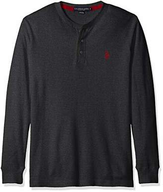 U.S. Polo Assn. Men's Long Sleeve Thermal Henley