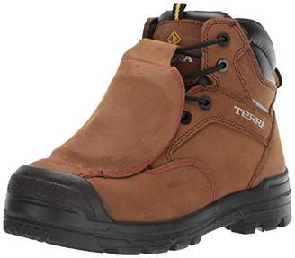"Terra Men's Barricade 6"" Metguard Composite Toe Insulated Waterproof Puncture Resistant Industrial Boot"