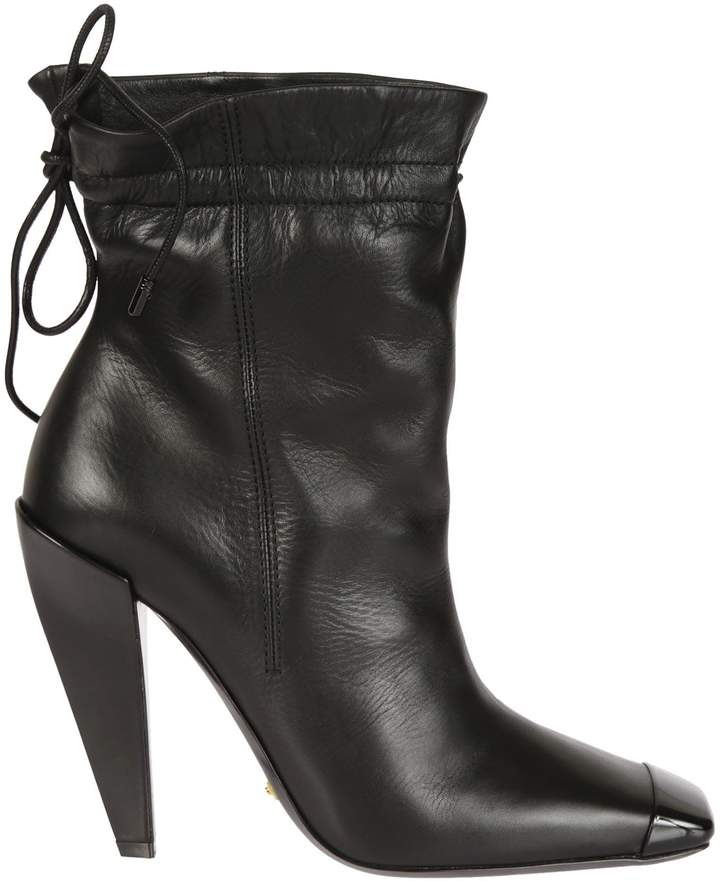Tom Ford Drawstring Ankle Boots