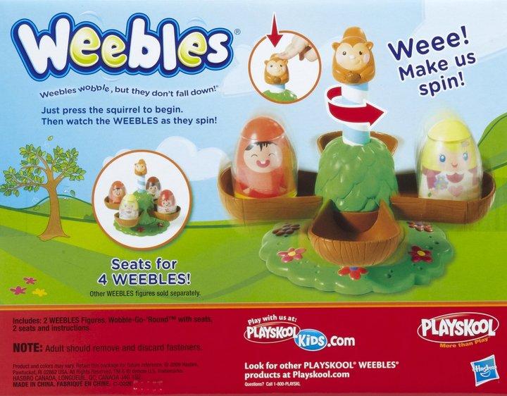 Playskool Weebles Playset