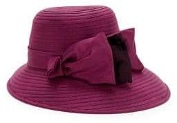 Giovannio Bow Wide-Brimmed Hat