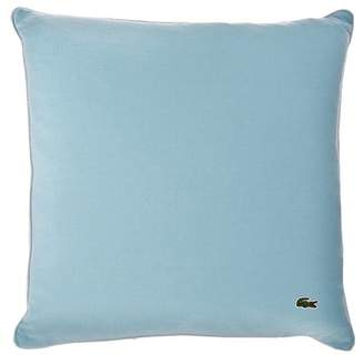 "Lacoste Jersey Caviar Pillow - 18"" x 18\"" - Stratosphere"